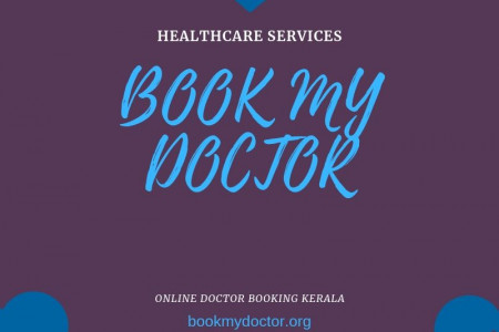 Online Medical Care: Book My Doctor Infographic