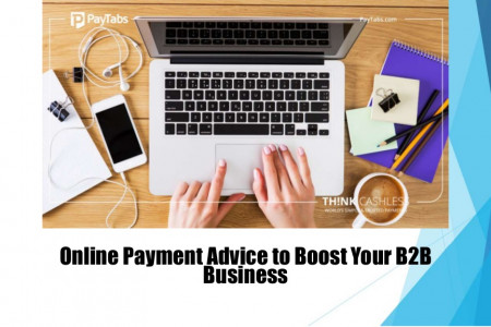 Online Payment Advice to Boost Your B2B Business Infographic