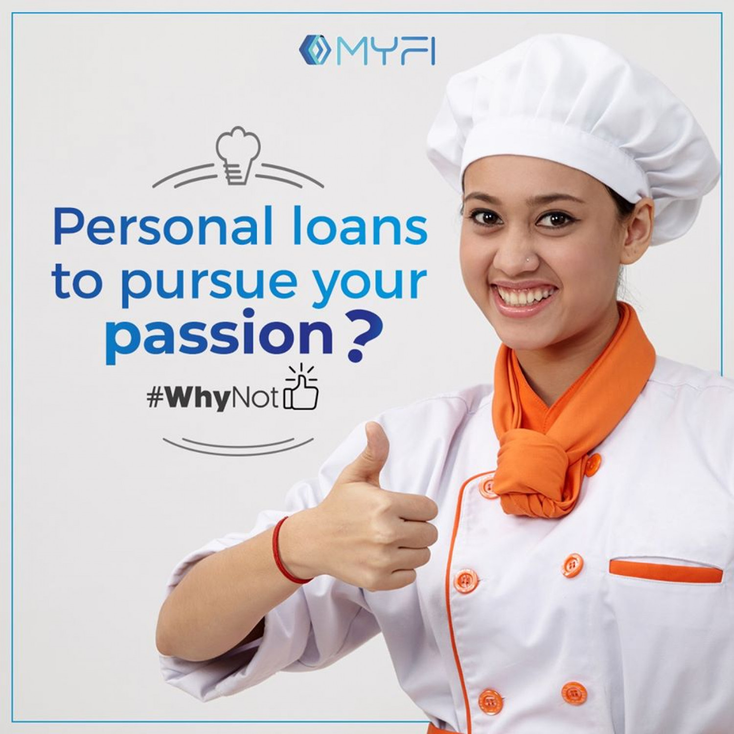 Online Personal Loan Providers in India | Myfi Services Infographic