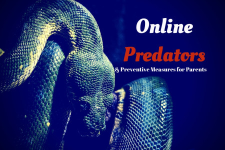 Online Predators by KidGuard Infographic