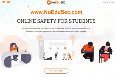 Online Safety for Students Infographic