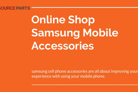 Online Shop Samsung Mobile Accessories Infographic