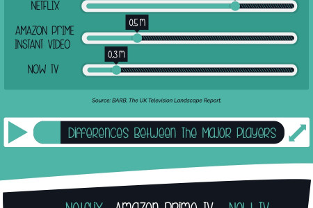 Online streaming- Infographic Infographic