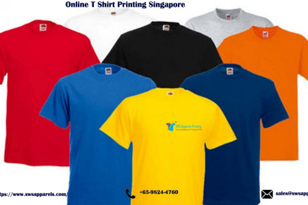 Online T Shirt Printing Singapore Infographic