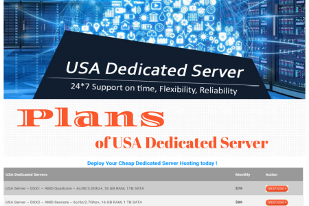Onlive Server Announced Next Generation Based USA Dedicated Server Hosting Plans Infographic