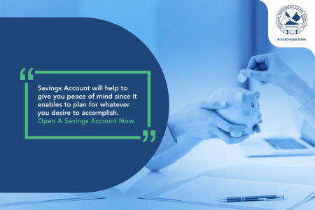 Open New Bank Account Infographic