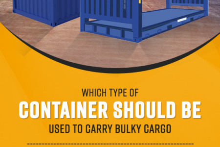 Open Top or Flat Rack – Which Type of Container should be Used to Carry Bulky Cargo? Infographic