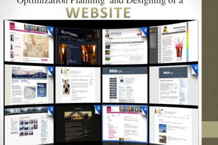 Optimization Planning and Designing of Website Infographic
