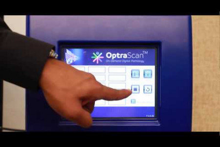 OptrSCAN Demonstration of Scanners and Solutions Infographic