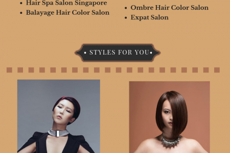 Orchard Road Hair Salon & Spa Services Singapore Infographic