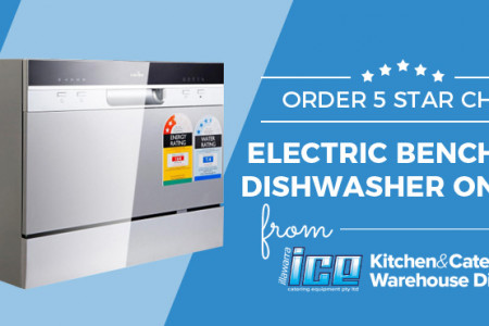 Order 5 Star Chef Electric Benchtop Dishwasher Online from ICE Group Infographic
