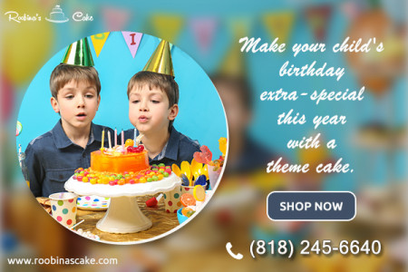 Order a Special Birthday Cake for Boy - Roobina's Infographic