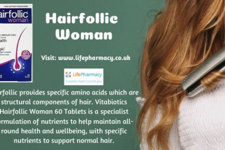 Order Online Hairfollic Woman - 60 Tablets Only From Uk's Trusted Online Pharmacy Infographic