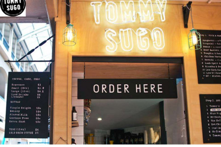 Order Your Breakfast, Lunch And Dinner at TOMMY SUGO Infographic
