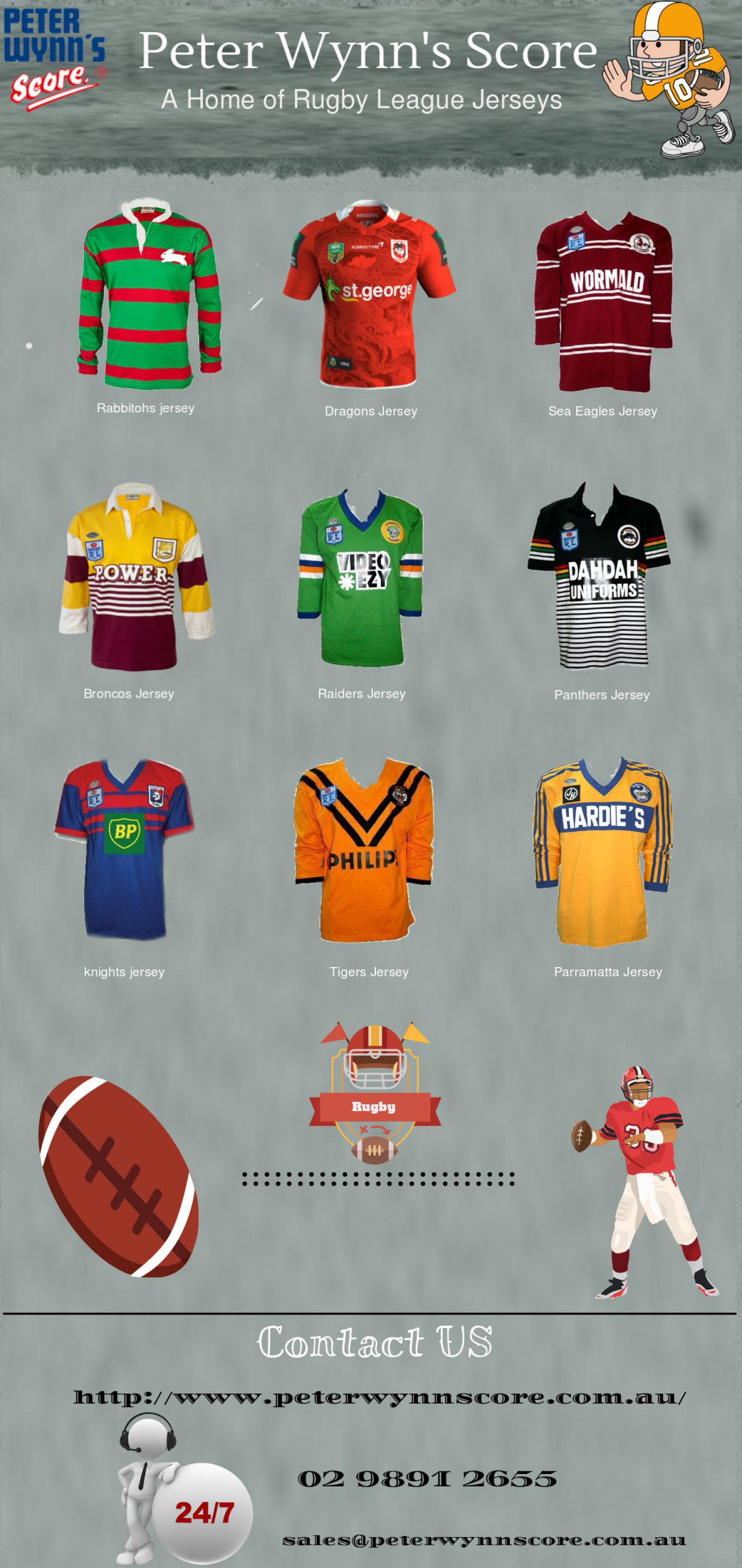 Order Your Jerseys Online With Peter Wynn's Score | Visual.ly