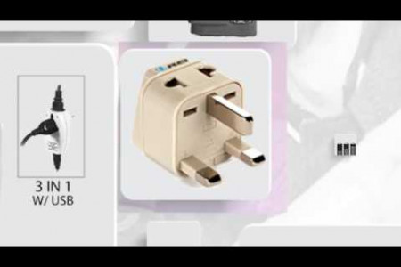 OreiTravel: One stop store for International Travel adapterers Infographic