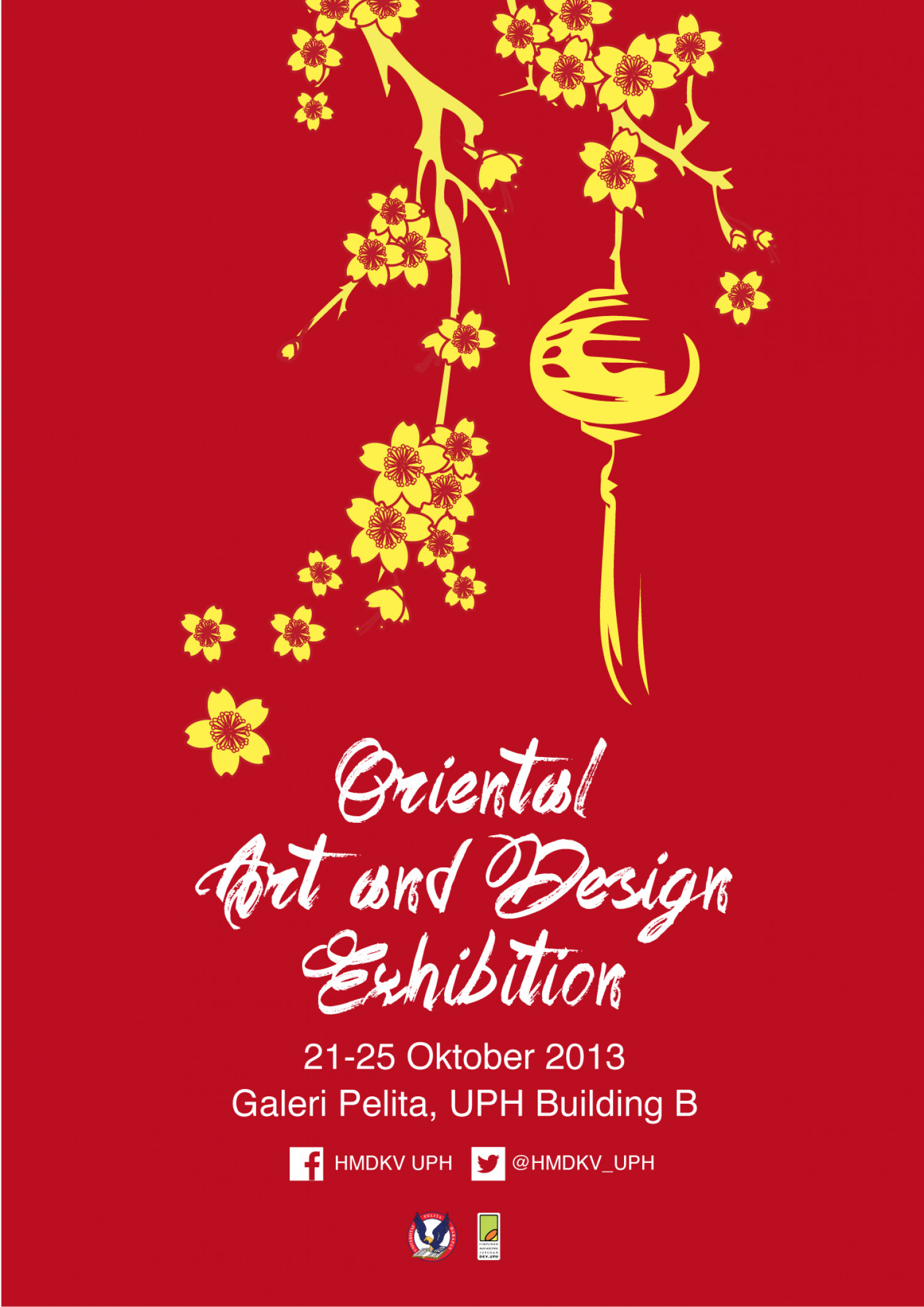 Oriental Art & Design Exhibition Infographic