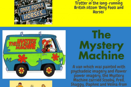 Our Favourite Movie and Television Vans Infographic