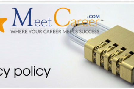 Our Privacy Policy – MeetCareer Infographic