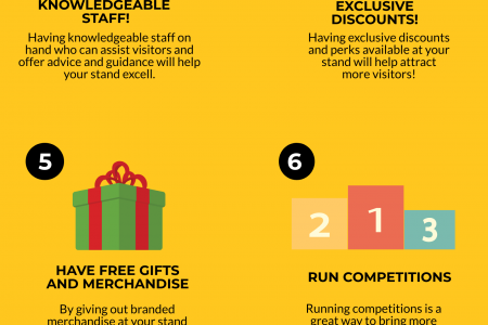 Our Top Ten Tips For Creating A Successful Exhibition Stand Infographic