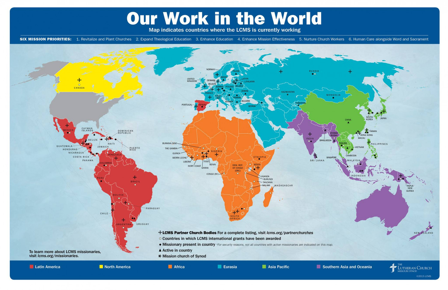 Our Work in the World — 2015 Infographic