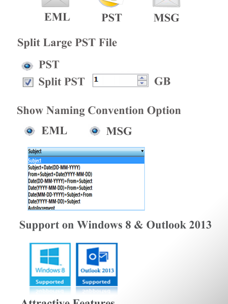 Outlook File Recovery Tool Infographic
