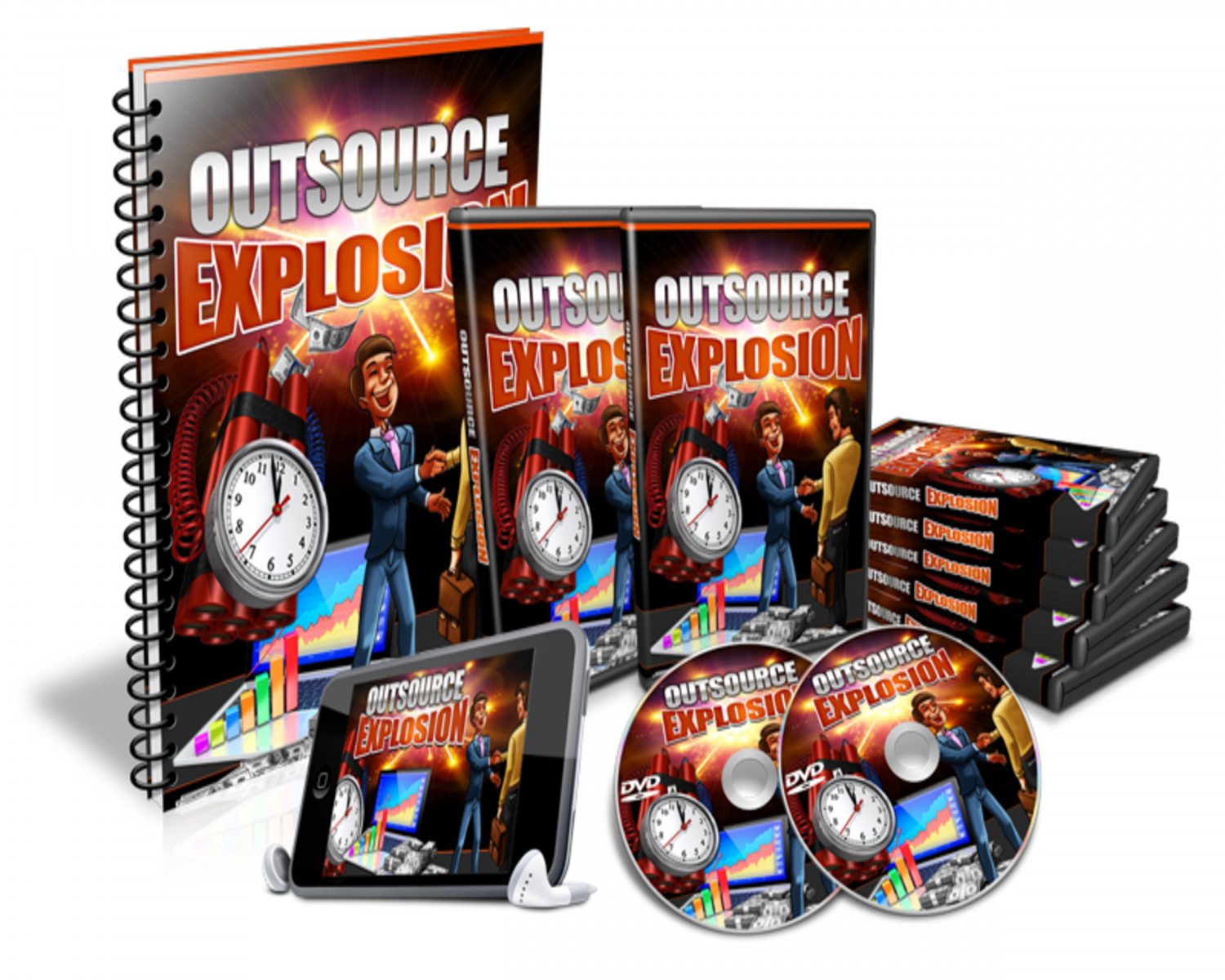 Outsource Explosion Review - Outsource Explosion DEMO & BONUS Infographic