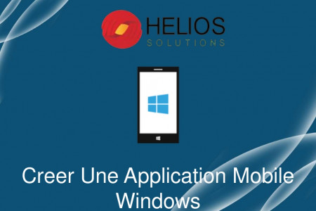 Outsourcing Windows Mobile Application Infographic