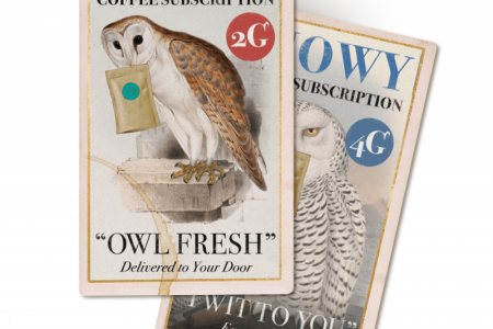 Owl Delivery Coffee Subscription Infographic