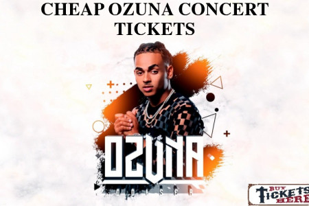 Ozuna Concert Cheap Tickets Infographic