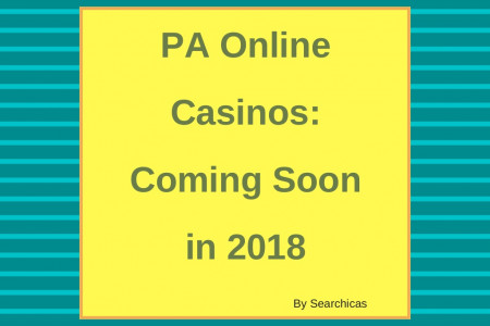 PA Online Casinos: Coming Soon in 2018 Infographic