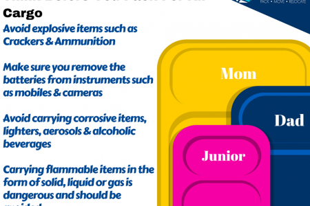 Packing and Moving Tips For Air Cargo Infographic