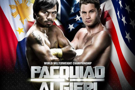 Pacquiao's Next Fight: Pacquiao vs Algieri [Infographic] Infographic