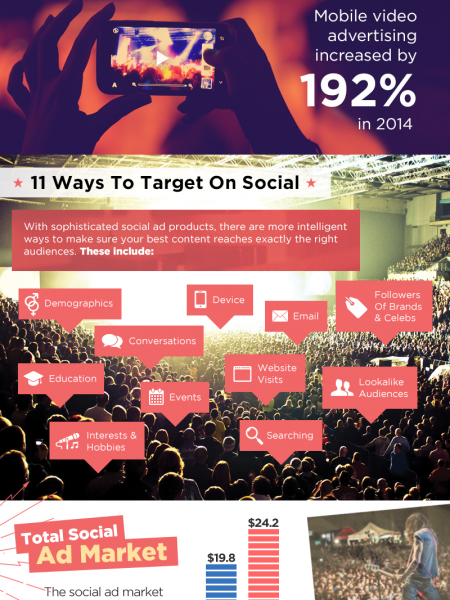 Paid Social Infographic Infographic