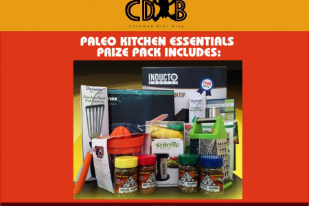 Paleo Kitchen Essentials Giveaway Infographic