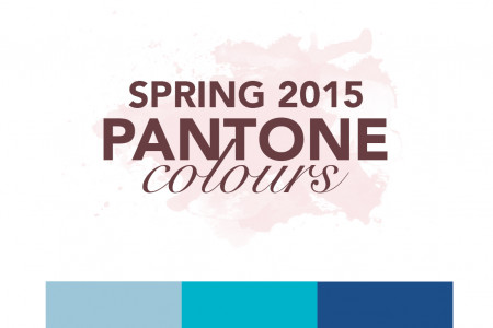 Pantone Spring 2015 Colours Infographic