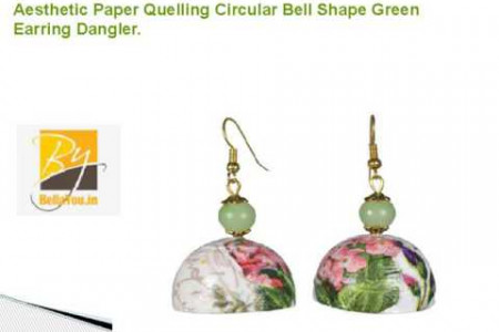 Paper Quilling Jewellery Infographic