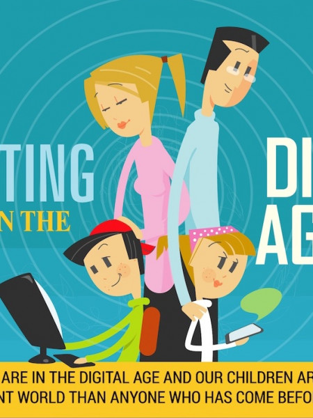 Parenting in the Digital Age Infographic