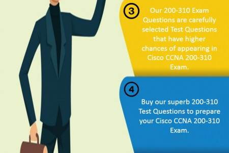 Pass Cisco CCDA 200-310 Exam in first attempt with valid 200-310 Dumps Questions  Infographic