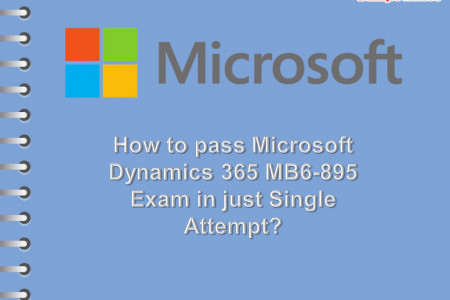 Pass Microsoft Dynamics 365 MB6-895 Exam with up-to-date MB6-895 Exam Dumps Infographic