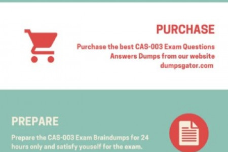 Pass The CAS-003 Exam with New CompTIA CAS-003 Dumps  Infographic