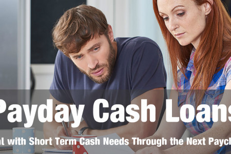 Payday Cash Loans- Useful When You Need Cash For Short Term Infographic