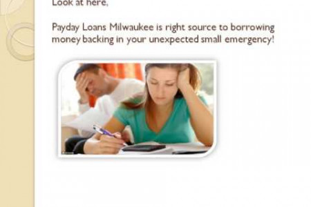 Payday Loans Milwaukee Perfect Loans Planned For Emergencies Infographic