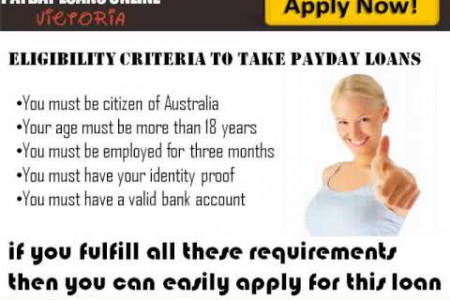 Payday Loans Online Victoria- Cover Your Urgent Necessities with Ease Infographic