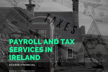 Payroll and Tax services in Ireland Infographic