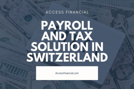 Payroll and Tax solution in Switzerland Infographic