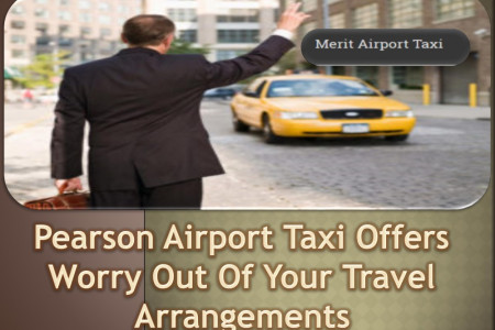 Pearson Airport Taxi Offers Worry Out Of Your Travel Arrangements Infographic