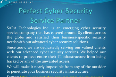 Perfect Cybersecurity Service Partner to Collaborate With Infographic