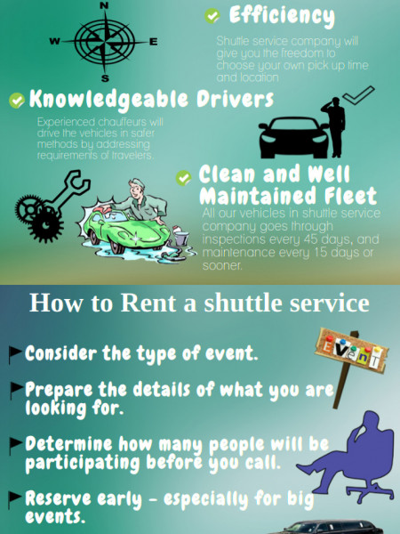 Perfect Ways To Choose The Professional Shuttle Service Infographic
