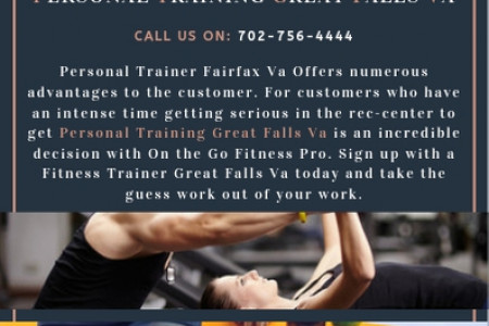 Personal Training Great Falls Va Infographic
